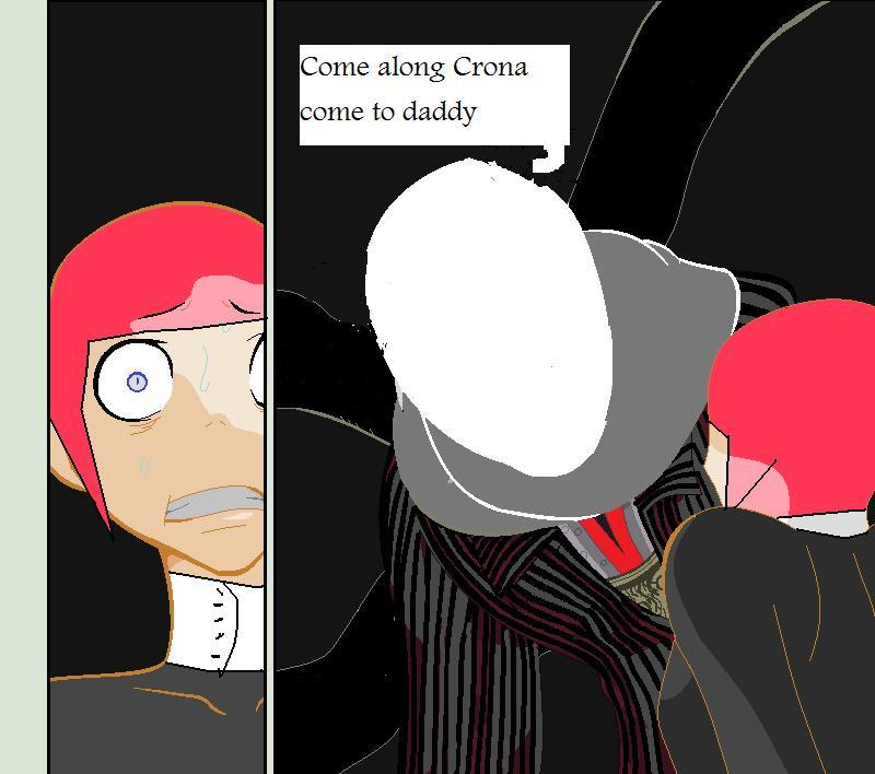 Crona And  Papa Slender Man by imyouknowwho