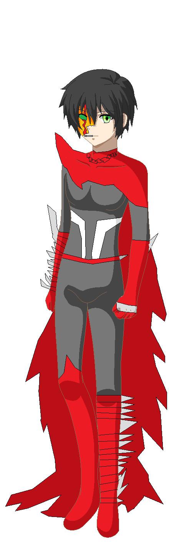 Shinji the Hellspawn unmasked. by imyouknowwho
