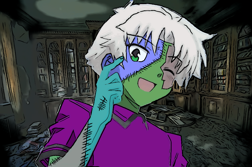Undead Akihisa. by imyouknowwho