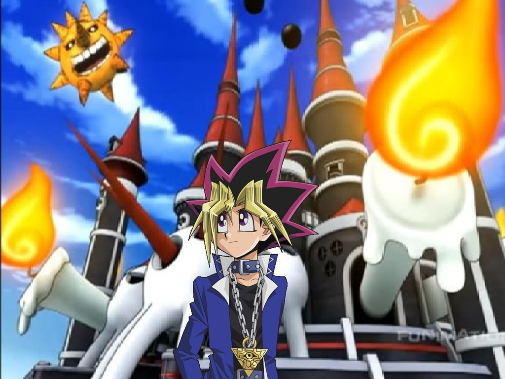 Yugi at the DWMA by imyouknowwho