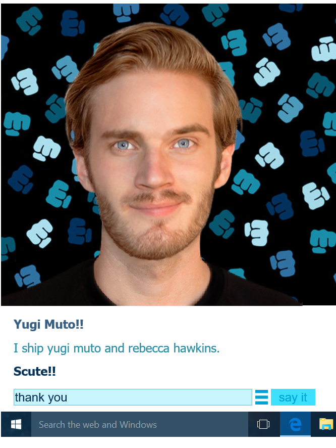 Pewdiebot  approves of replayshipping. by imyouknowwho