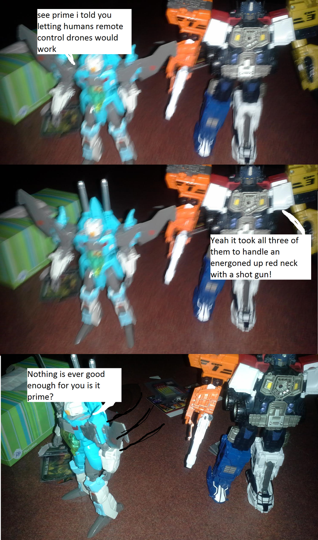 they caught the Energon theif by imyouknowwho