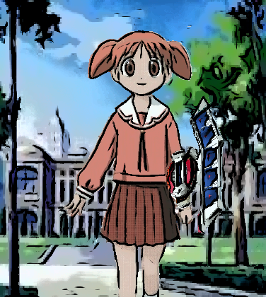 Chiyo  the Duelist? by imyouknowwho