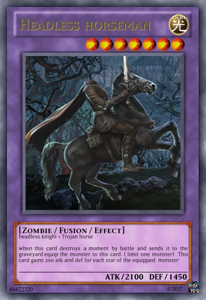 Fan Card! Headless Horseman by imyouknowwho