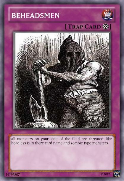 Beheadsmen! fancard by imyouknowwho