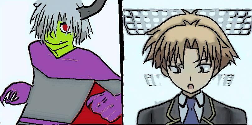Powerpuff girls z Akihisa Yoshi and Mr. Green. by imyouknowwho
