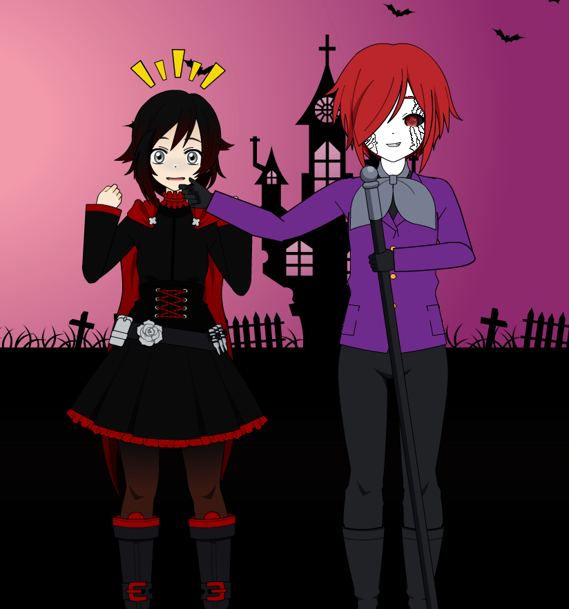 Ruby meets the New king of the Grimm!! by imyouknowwho