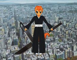Anthro change Ichigo