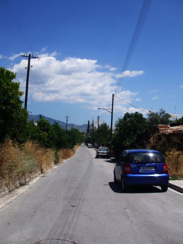 The Way to the Lidl in Volos by Konsummuell