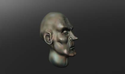 Sculptris figure head by Jago86