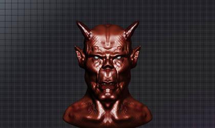 Demon geeza. by Jago86