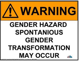 WARNING by Gender-Benderz
