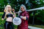 Trish and Dante Devil May Cry 5 by Kanda-Crosszeria