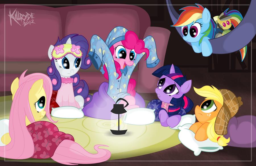 Pinkie's Bedtime Tales by Killryde