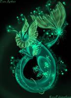 Pure Aether : Vaporeon by RenePolumorfous