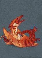 Just Hatched:Sinerai by RenePolumorfous