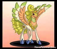 Rainbow Wings: Pixel Animation by RenePolumorfous