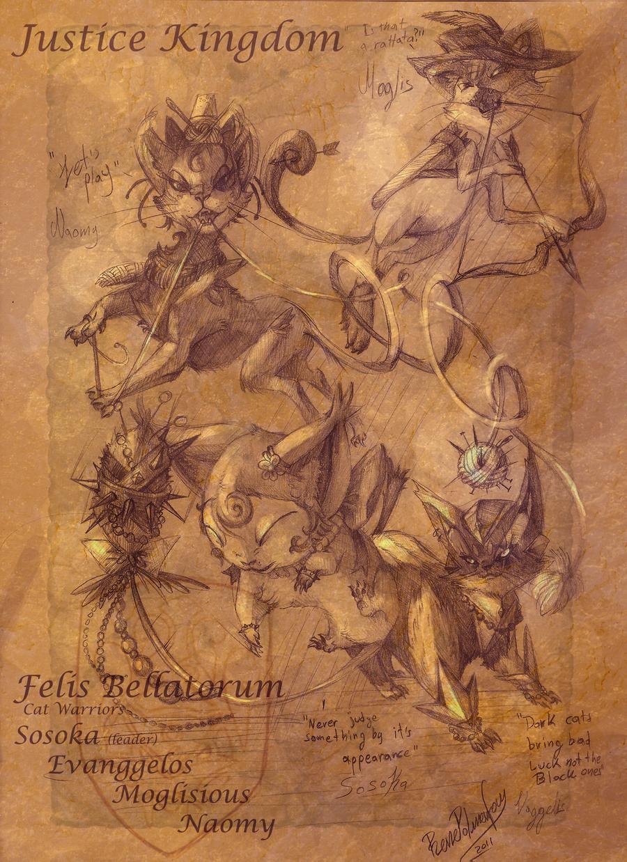 Felis Troubles by RenePolumorfous