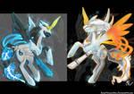 Black Pony 2 White Pony 2