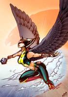 Hawkgirl by RenePolumorfous