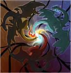 Trinity of The Fire Lizard