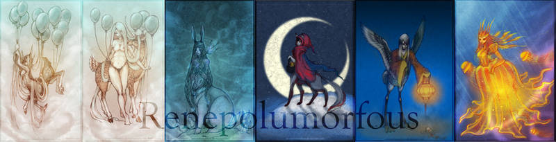 Dream Spirits by RenePolumorfous
