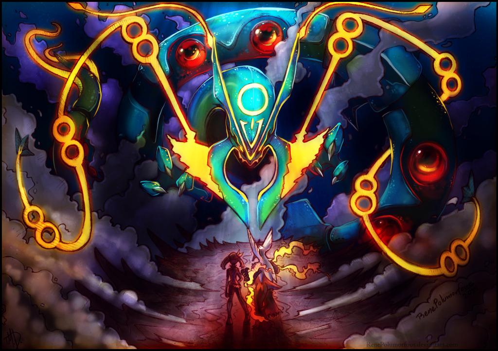 Mega Lord of the Sky by RenePolumorfous