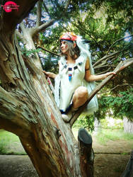 Mononoke Hime Cosplay by RenePolumorfous