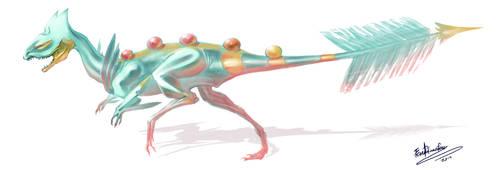 Soul Blade Dilophosaurus Studies