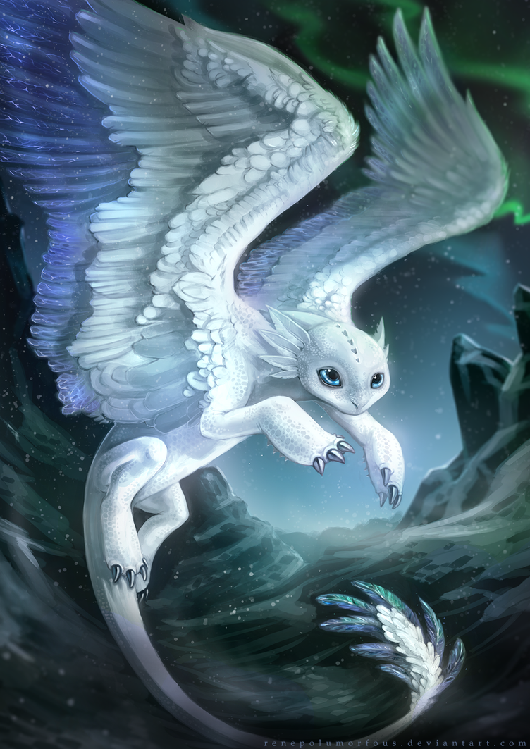 The Mythical Frost Feather by RenePolumorfous - 134.5KB