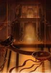 Dragon Earth Temple by RenePolumorfous