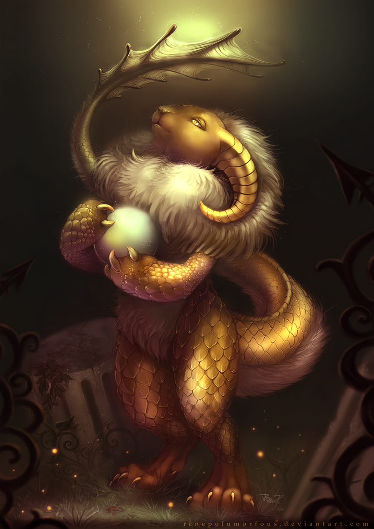 Shining Goblin : The Eyes of Lightweever by RenePolumorfous