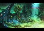 LadyLotus : Nature's Spirit by RenePolumorfous