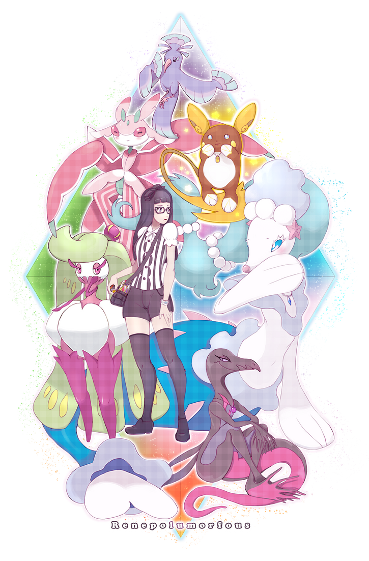 Pokemon Moon Team by RenePolumorfous