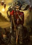 Suowierya :The High Priestess by RenePolumorfous