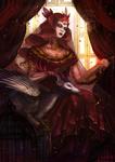 Narcissa: The Lorekeeper (Gijinka Version)