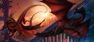 Draknar and Biohazard: Gothic Sunset