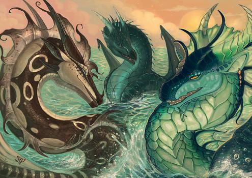 Mojave, LostWish and Kraken: Sunset
