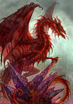 Diomedes : Red Metalic Dragon