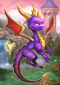 Spyro The Dragon!