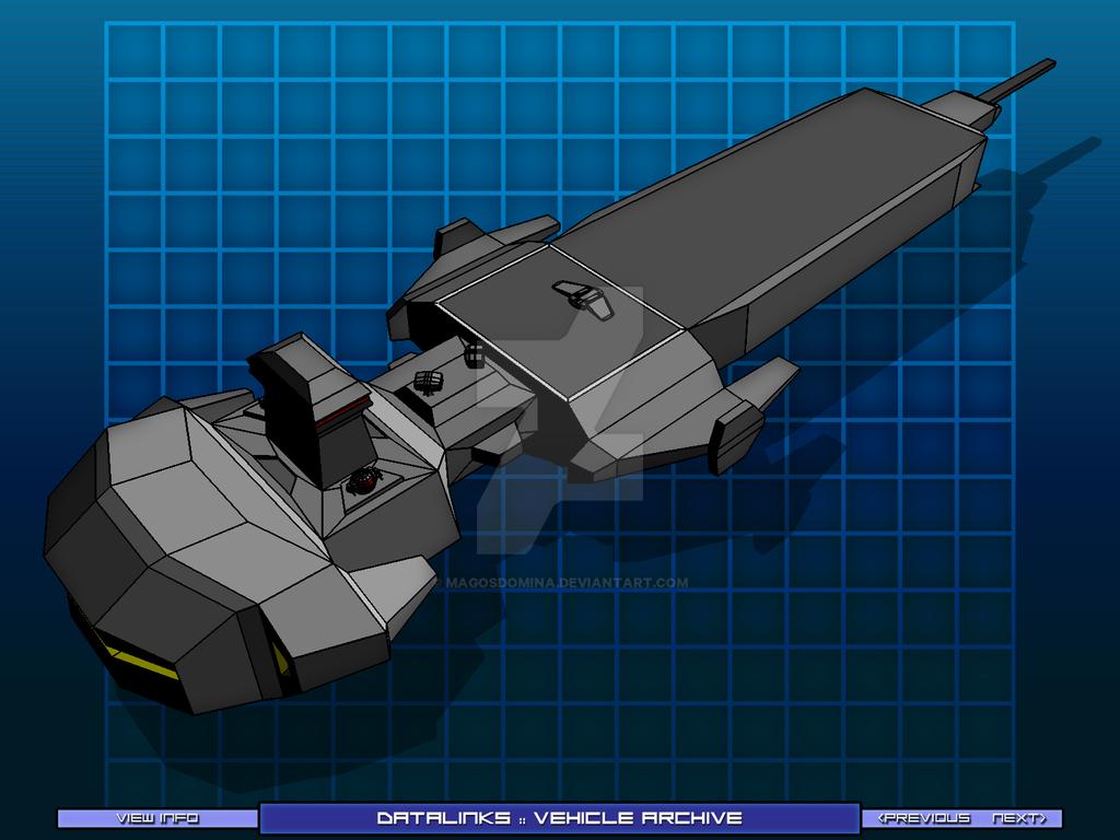 Cyber Support Cruiser 05 by MagosDomina