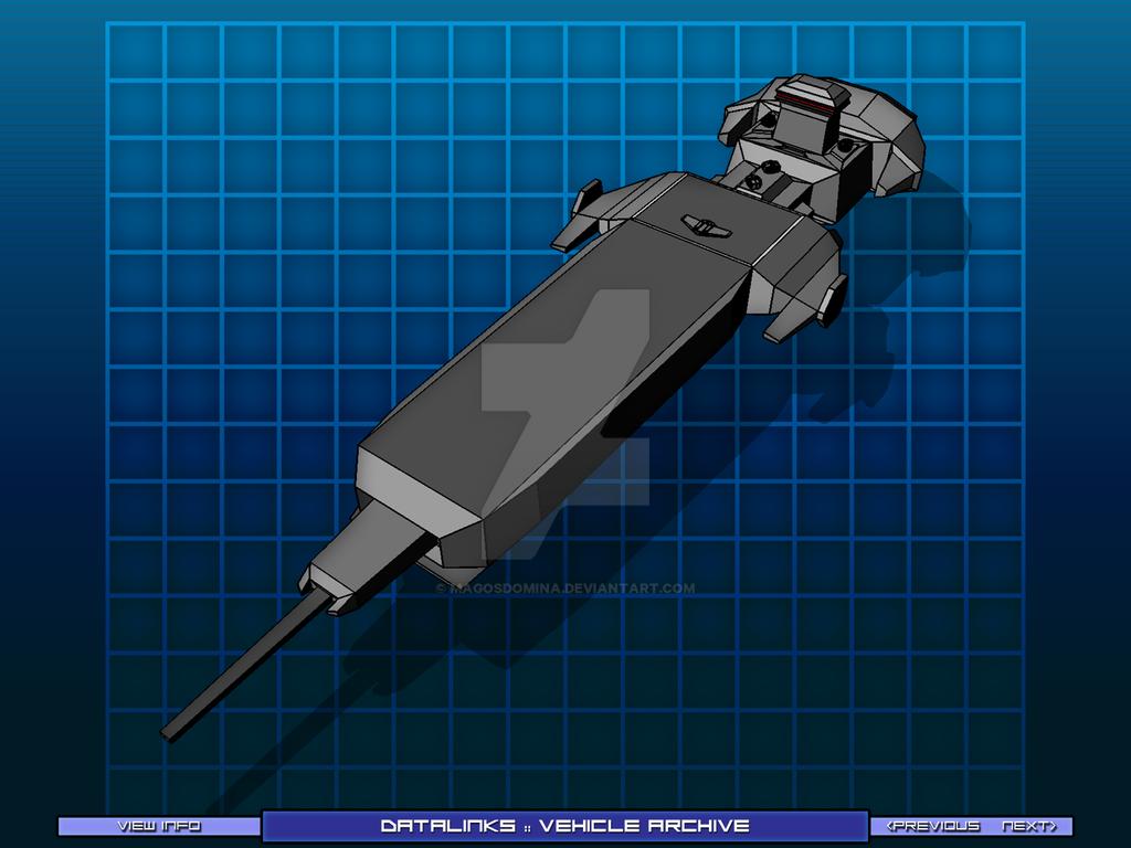 Cyber Support Cruiser 01 by MagosDomina
