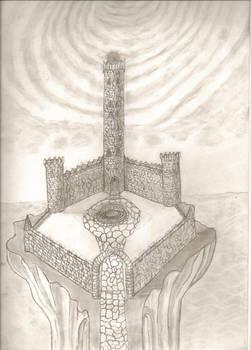 Castle above the sea
