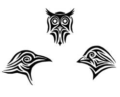 The Crow the Owl the Dove