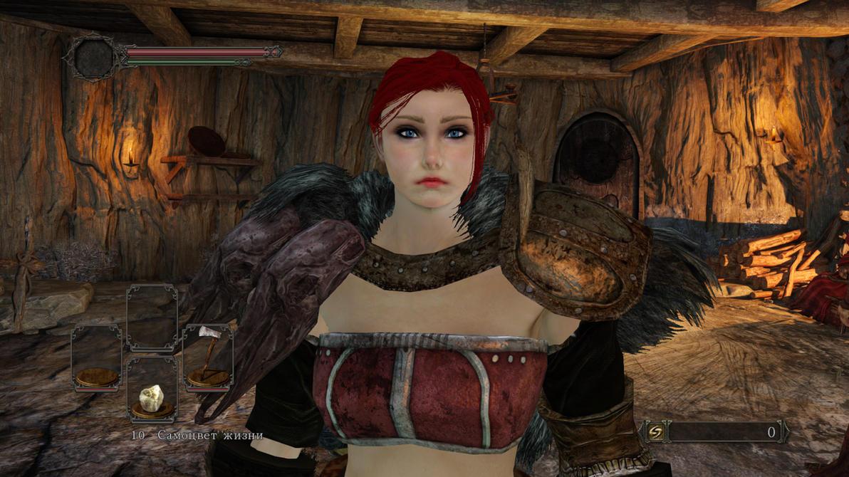Dark Souls 2 - Fira (my original character) by Shredder2016