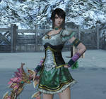 Dynasty Warriors 8 XL. Xing Cai - battle angel
