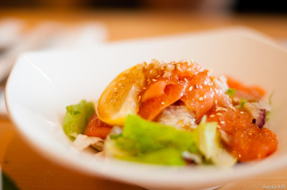 Salmon Salad by KuroDot