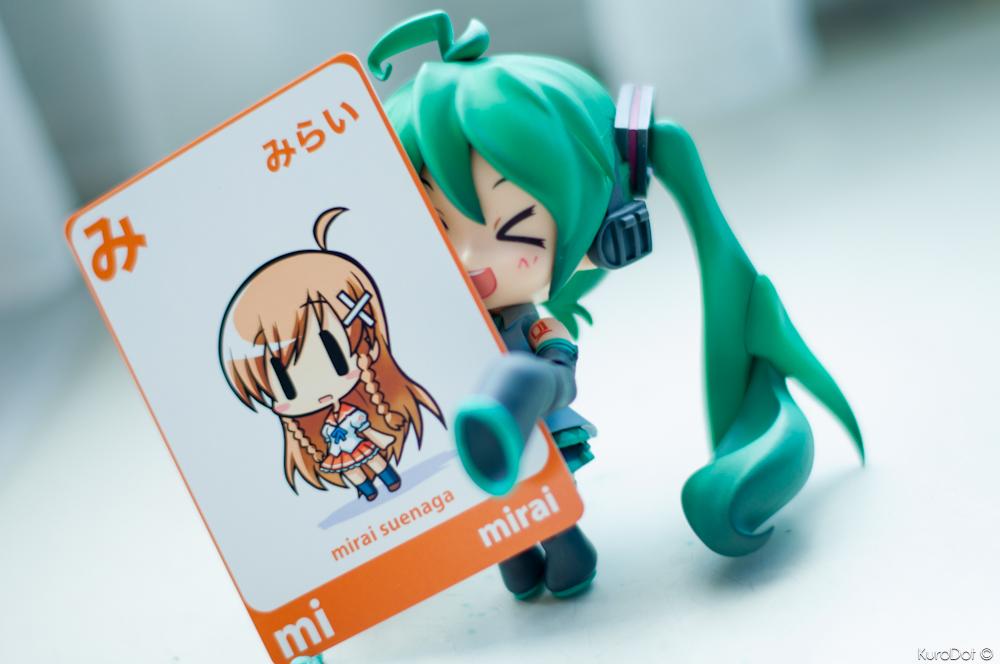 Mirai x Hatsune Miku by KuroDot