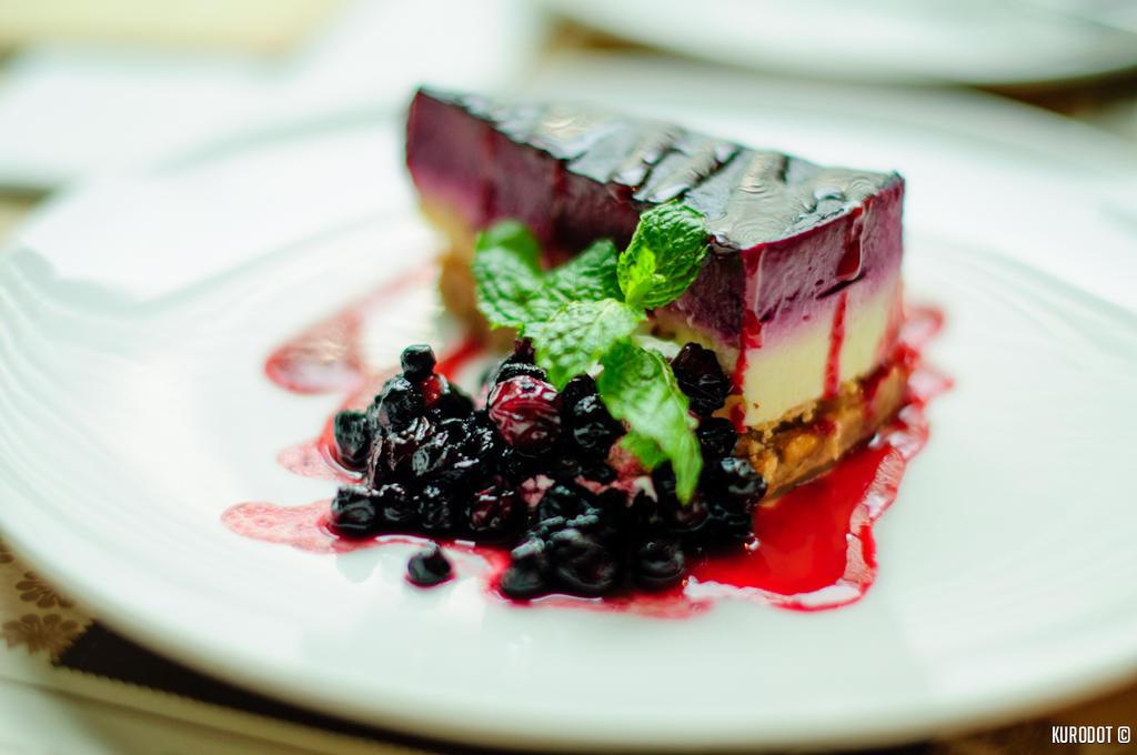 Blueberry Cheesecake by KuroDot