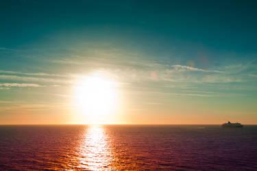 Sunset 1 by ploftdk